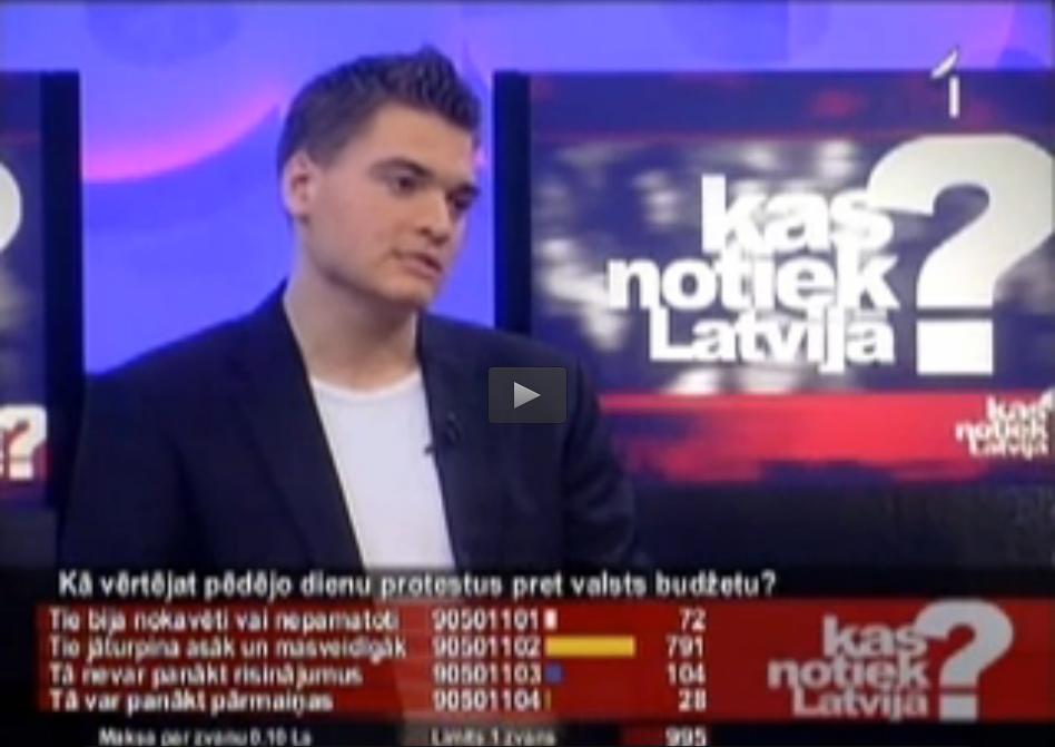 2009.gada 2.decembra Kas notiek Latvijā?